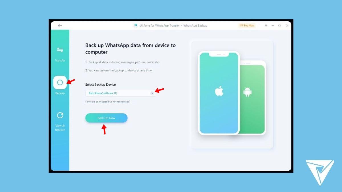 UltFone WhatsApp Transfer -4