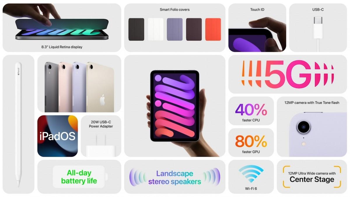 iPad mini 2021 özellikleri