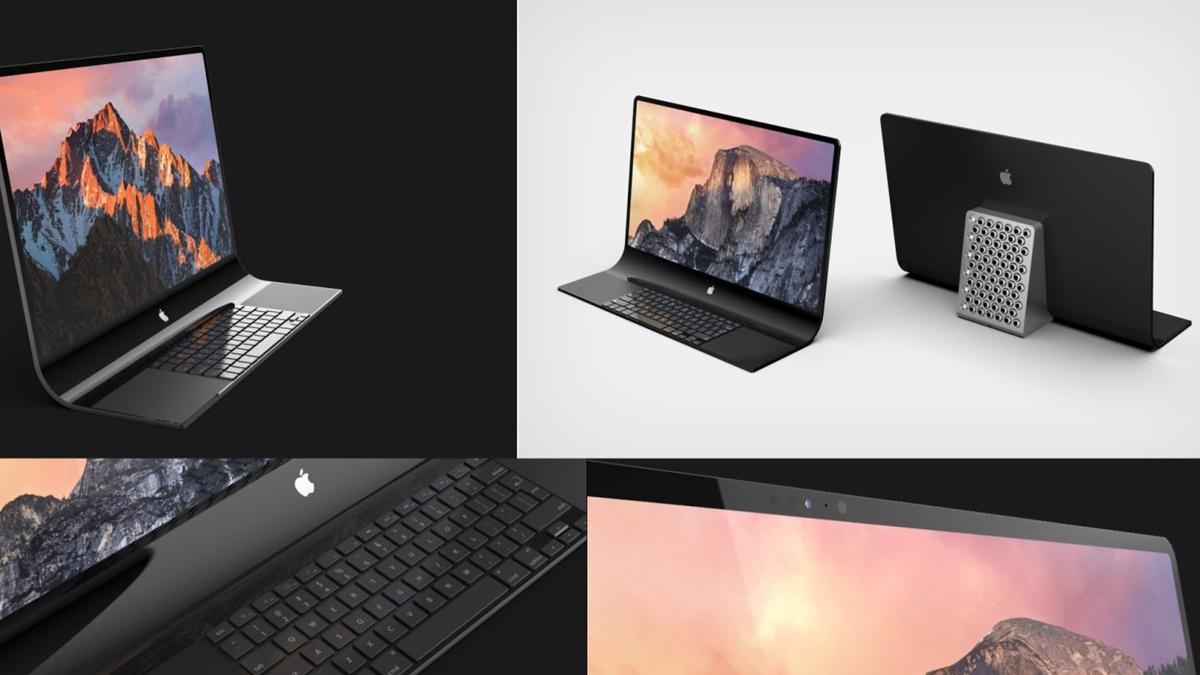 Bütünleşik Klavyeli iMac Nasıl Görünüyor?