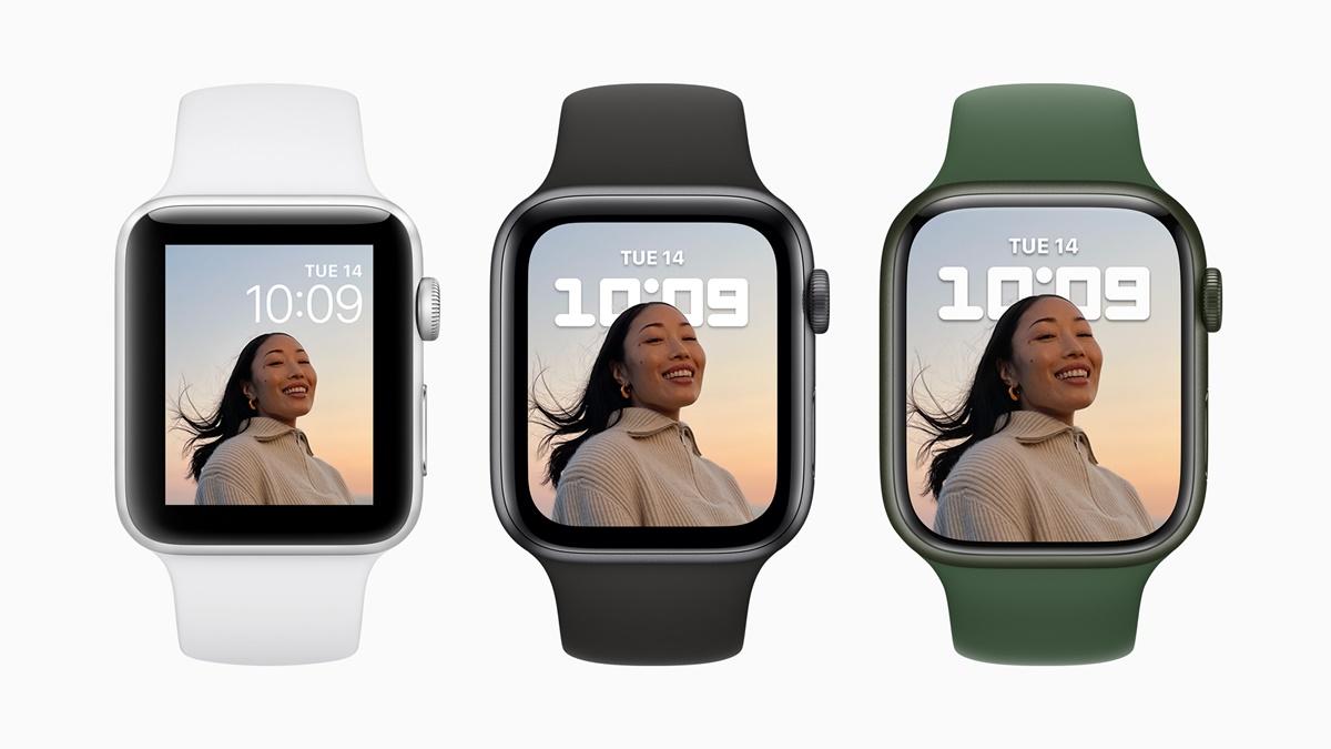 Apple Watch 7 Bugün Ön Siparişe Sunulacak