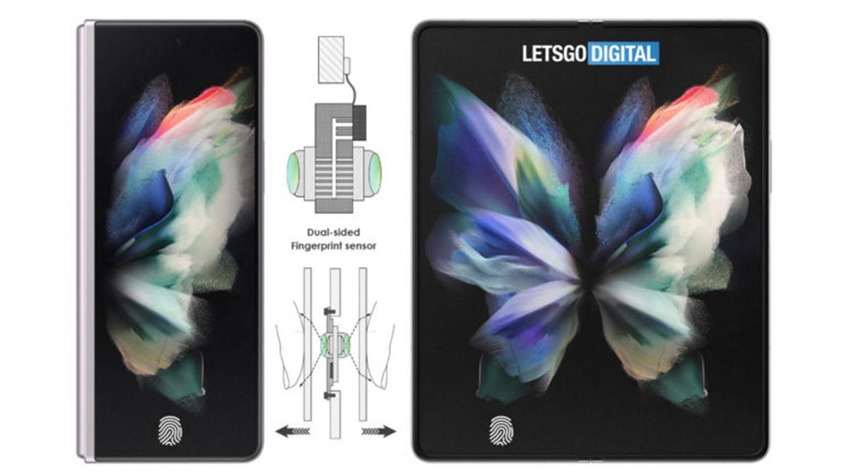 Samsung Katlanabilir Telefonlarda İki Ekran Altı Parmak İzi Sensörü Kullanacak
