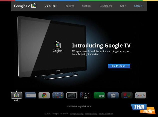 <strong>Google TV</strong>