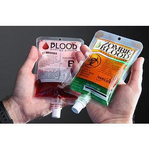 İnsan ve Zombi Kanı İçeceği