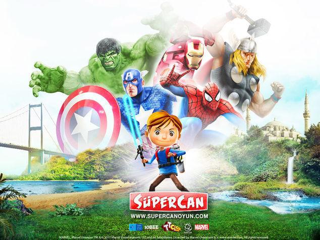 <strong>Süpercan ve Dostları<br></strong>
