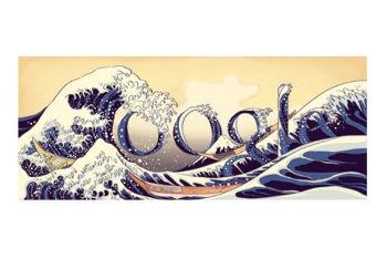 Great Wave Doodle
