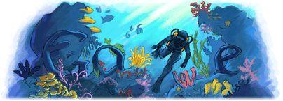 Cousteau Doodle