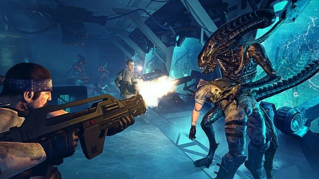"""<p class=""""MsoNormal""""><strong>Aliens: Colonial Marines<o:p></o:p></strong></p>"""