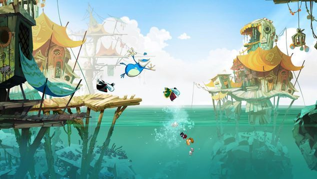 """<p class=""""MsoNormal""""><strong>Rayman Legends<o:p></o:p></strong></p>"""