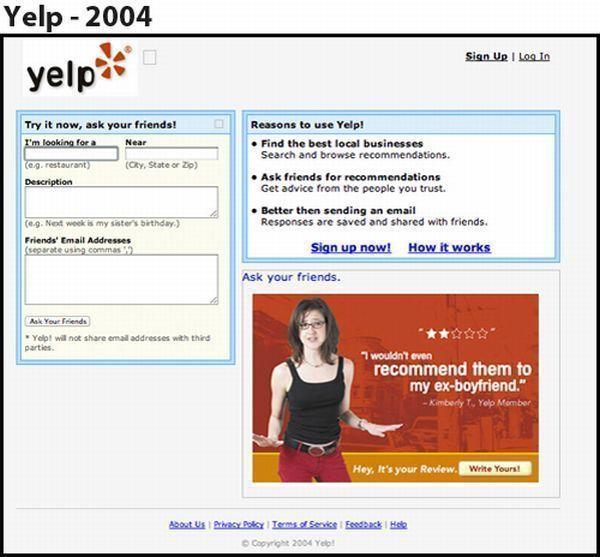 Yelp - 2004