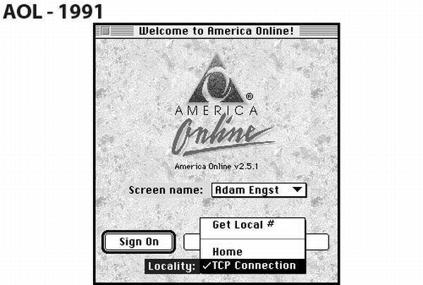 AOL - 1991