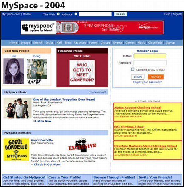 Myspace - 2004