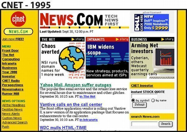 CNET - 1995