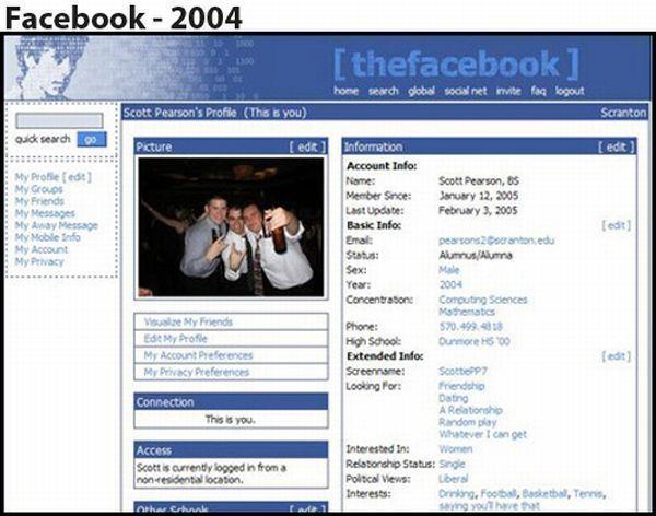 Facebook - 2004