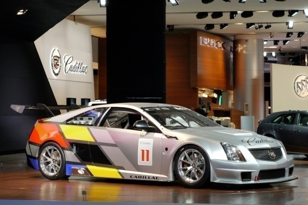 Cadillac CTS-V Coupe SCCA