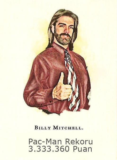 Pac-Man puan rekoru : Billy Mitchell