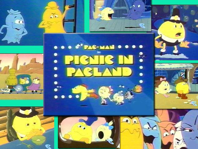 1982 - Pac-Man Çizgi Filmleri Televizyonda