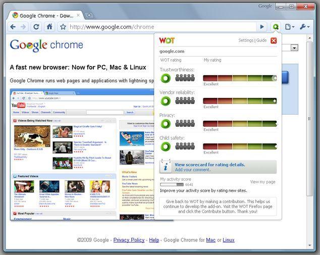 Chrome WOT