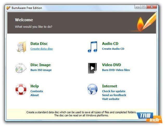 CD/DVD Yazma Programı