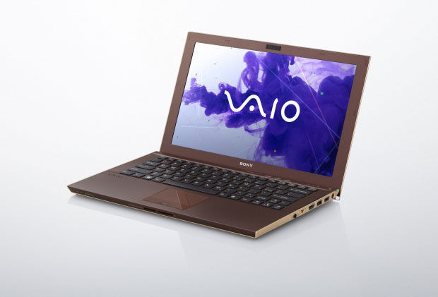 Sony Vaio Z carbon gold