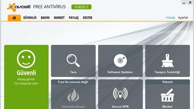 Avast! Free Antivirüs Kullanım Rehberi