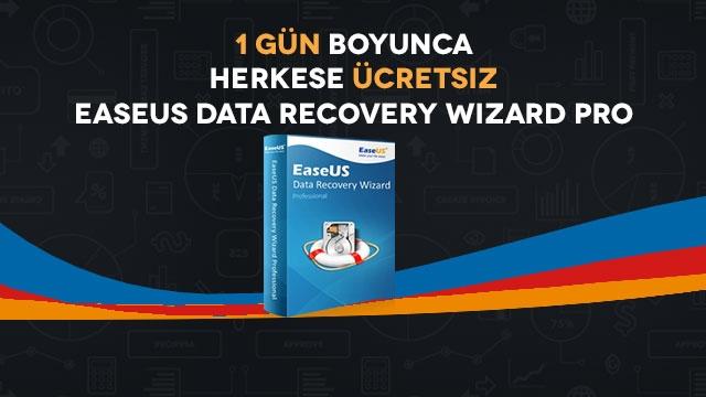 Tamindir'den Herkese Ücretsiz EaseUS Data Recovery Wizard Pro Lisansı