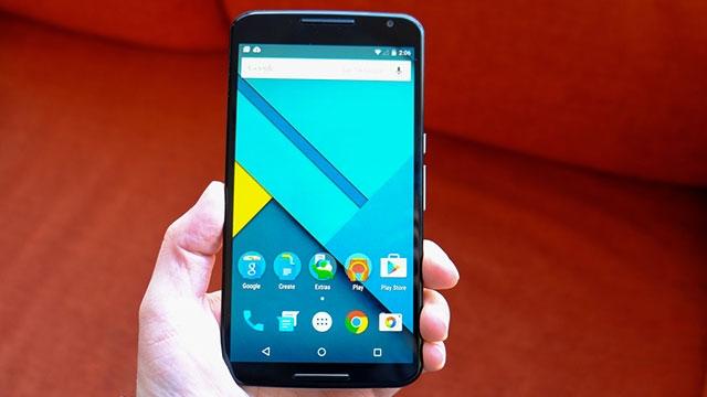 Nexus 6 Ön Siparişe Sunuldu