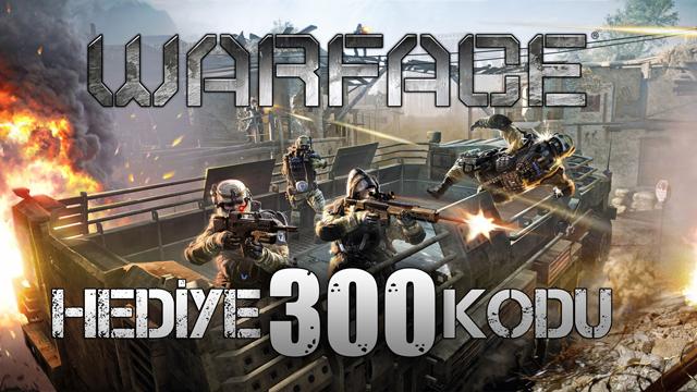 Kodlar Gönderildi! - 300 Adet Warface Hediye Kodu Dağıtıyoruz