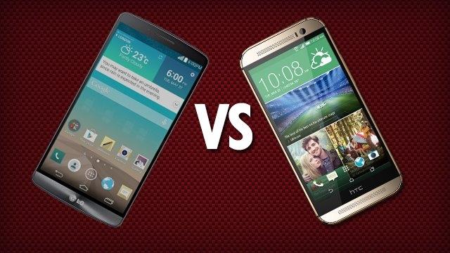 LG G3 ve HTC One M8 Karşılaştırması