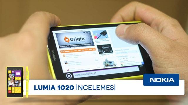 Nokia Lumia 1020 İncelemesi