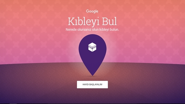 Google Kıble Bulma Uygulamasını Yayınlandı