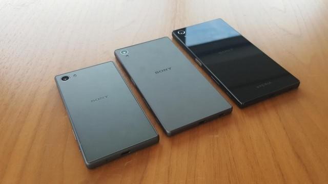 Sony Xperia Z5, Xperia Z5 Compact ve Xperia Z5 Premium Karşılaştırması