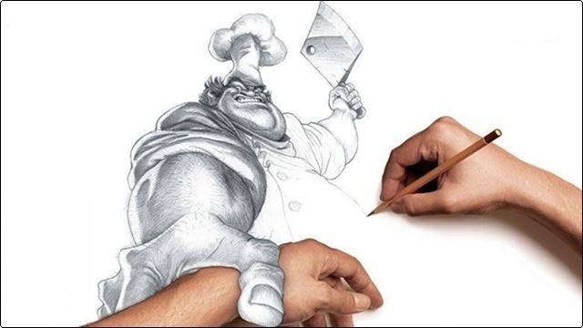 Photoshop'ta Kara Kalem Çalışması Nasıl Yapılır?