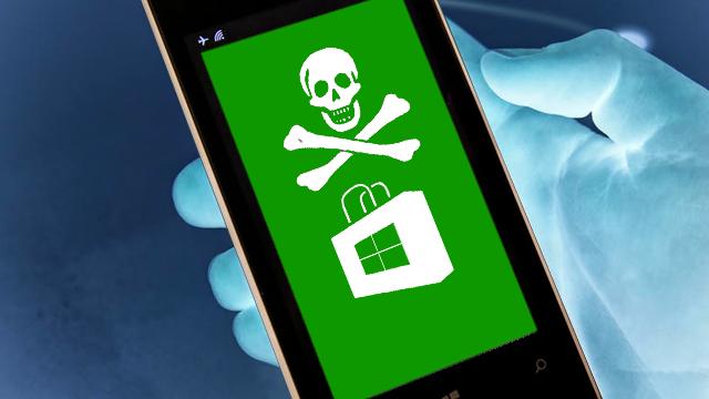 Windows Phone Mağazalarındaki Büyük Problem: Korsancılık!