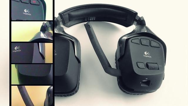 Logitech G930 7.1 Surround Kablosuz Kulaklık İncelemesi