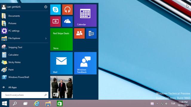 Windows 10 Teknik Önizleme Sürümü'nün Yeni Versiyonu Nasıl İndirilir?