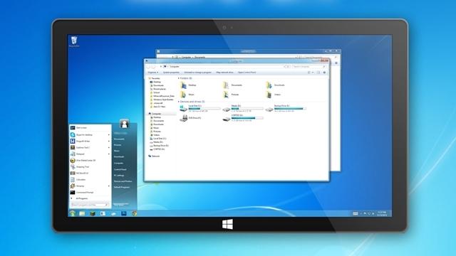 Windows 8.1'e Aero Görünümü Kazandırma