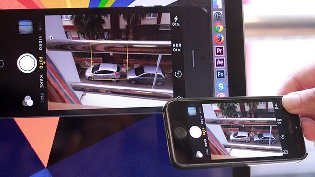 iPhone ve iPad'leri Güvenlik Kamerası Olarak Kullanma