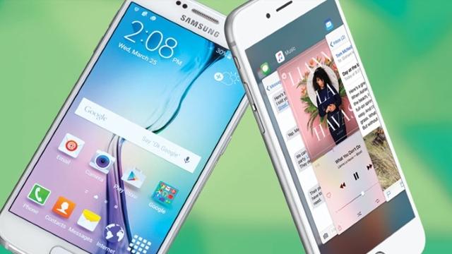 Samsung Galaxy S6 ve iPhone 6s Yüz Yüze, Yılın Karşılaştırması!