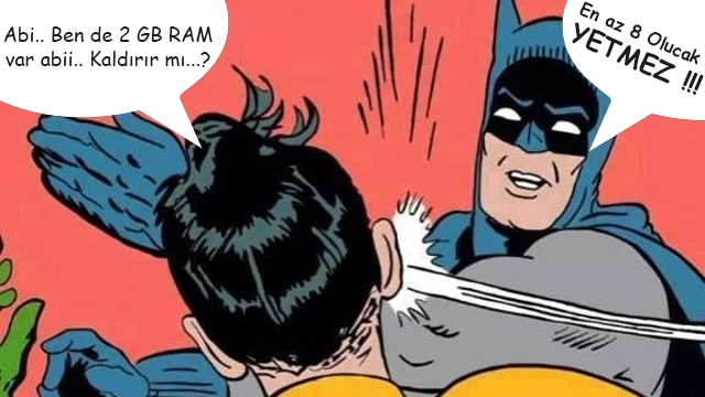 Windows 10 İşletim Sistemine Gerçekten Ne Kadar RAM Lazım?