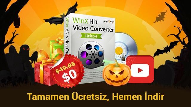 WinX HD Video Converter Deluxe Ücretsiz Sizin Olabilir