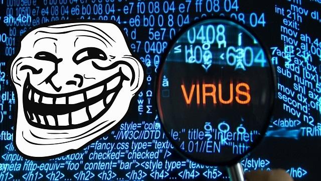Sahte Virüs Mesajıyla Arkadaşlarınıza Şaka Yapın!