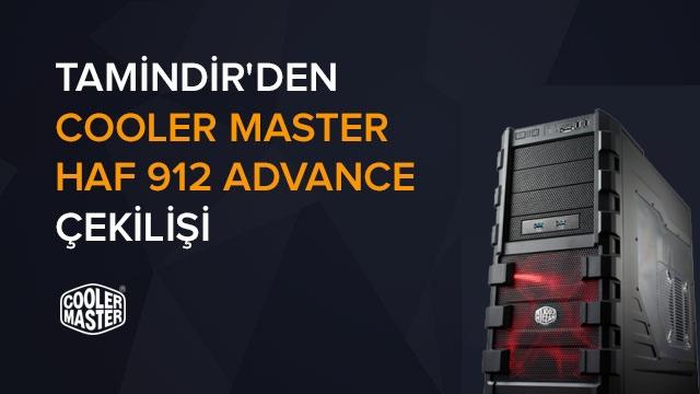 Tamindir'den Cooler Master HAF 912 Advanced PC Kasası Çekilişi ( Kazanan Belli Oldu)