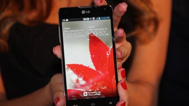 LG Optimus G2'nin Tuşları Arkasında mı Olacak?