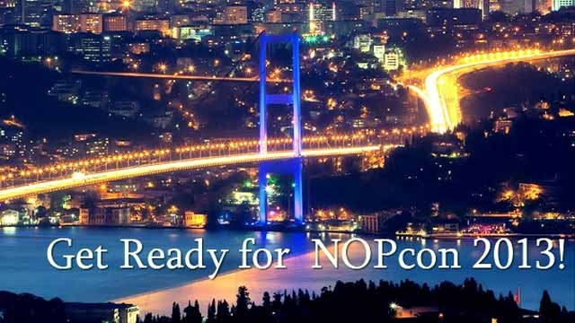 NOPcon 13 ile Hackerlar İstanbul'da Toplanıyor