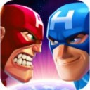 Battle of Superheroes Captain Avengers
