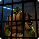 Survival Prison Escape: Fort Robot Way Out Night