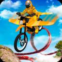 Flying Motorbike Stunts