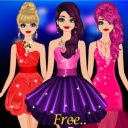 Girls Party Dress up