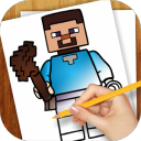 Learn to Draw Minecraft Legos