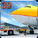 Airport Plane Ground Staff 3D